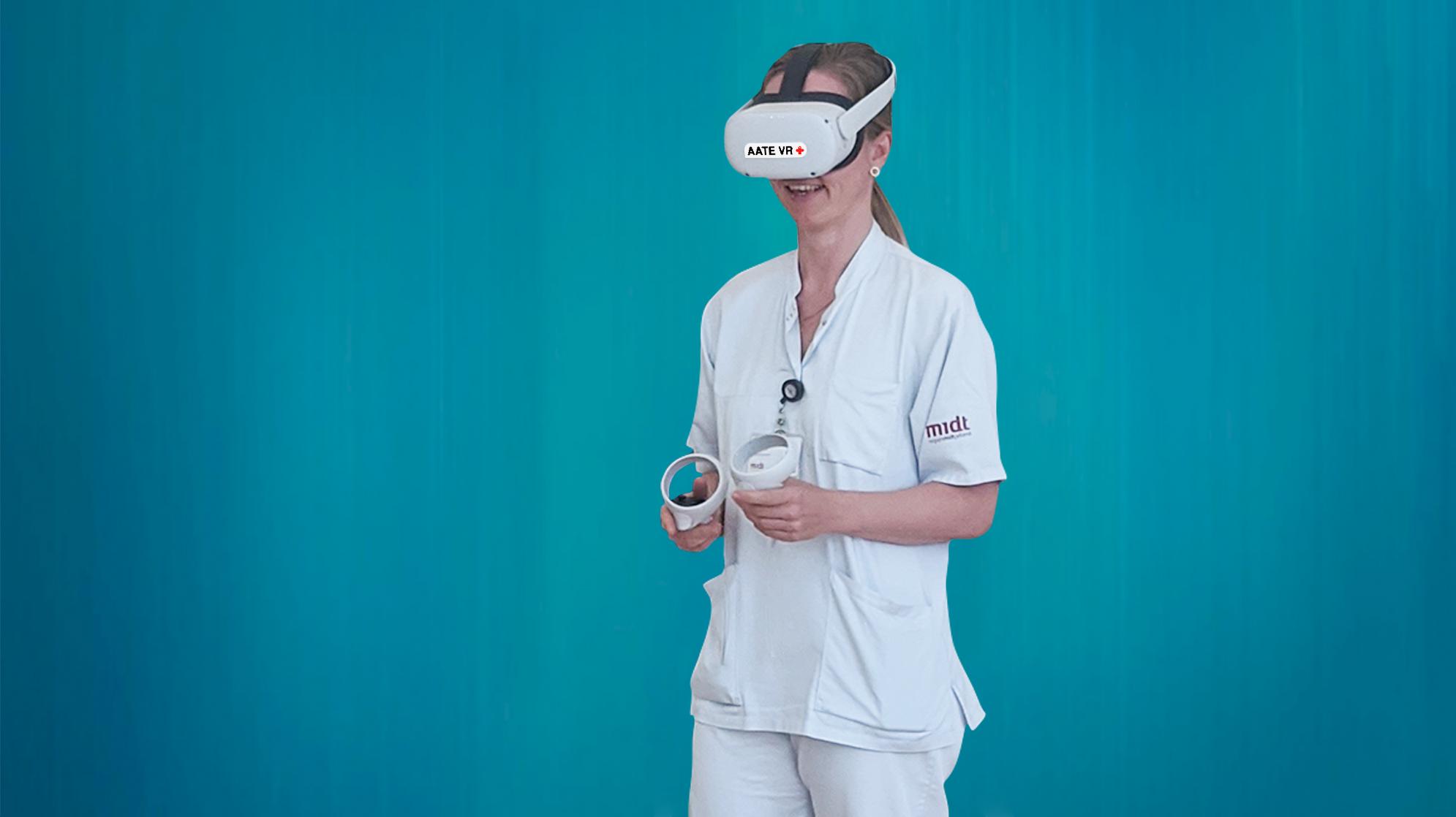 Studerende skal teste VR